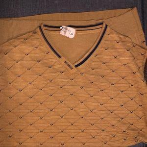 Zara Sweaters - NWOT Men's Zara Sweater Gold